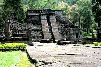 Candi Sukuh Pyramid, Indonesia
