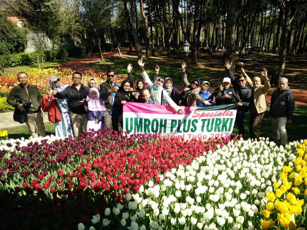 program itinerary umroh plus turki festival tulip