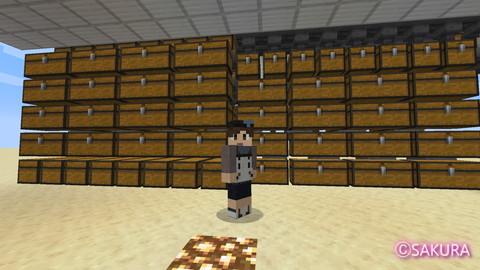 Minecraft 多段式倉庫