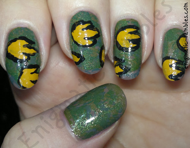 jurassic-nails-time-period-challenge-nail-art-footprint