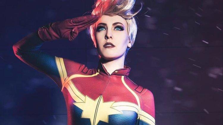 Images: Impressive Captain Marvel Cosplay