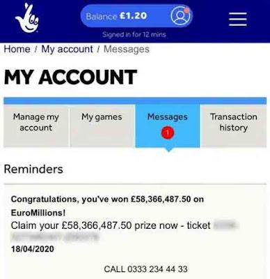 ryan hoyle wins 58 million pounds lottery in lockdown