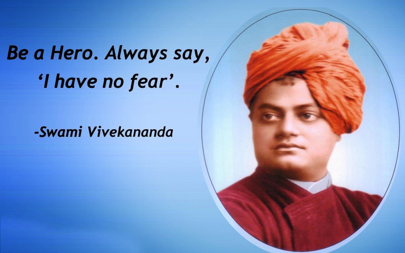 Vivekananda Reddy Hd: Be A Hero. Always Say, 'I Have No Fear'