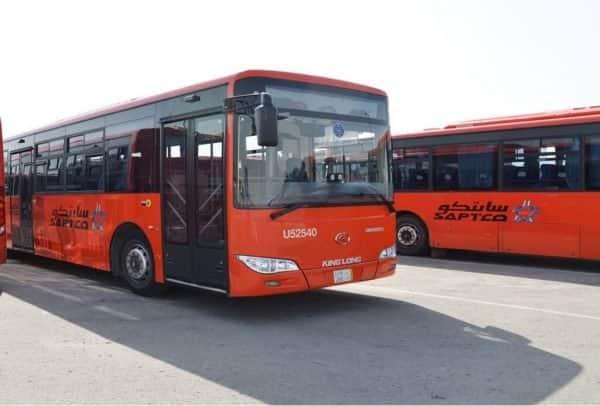 PUBLIC BUS SERVICES TO START IN RIYADH JEDDAH