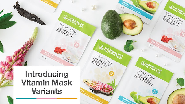 Herbalife Nutrition Malaysia Launches Vitamin Mask for Beautiful and Healthy Skin