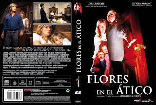 Flores en el ático - Carátula dvd