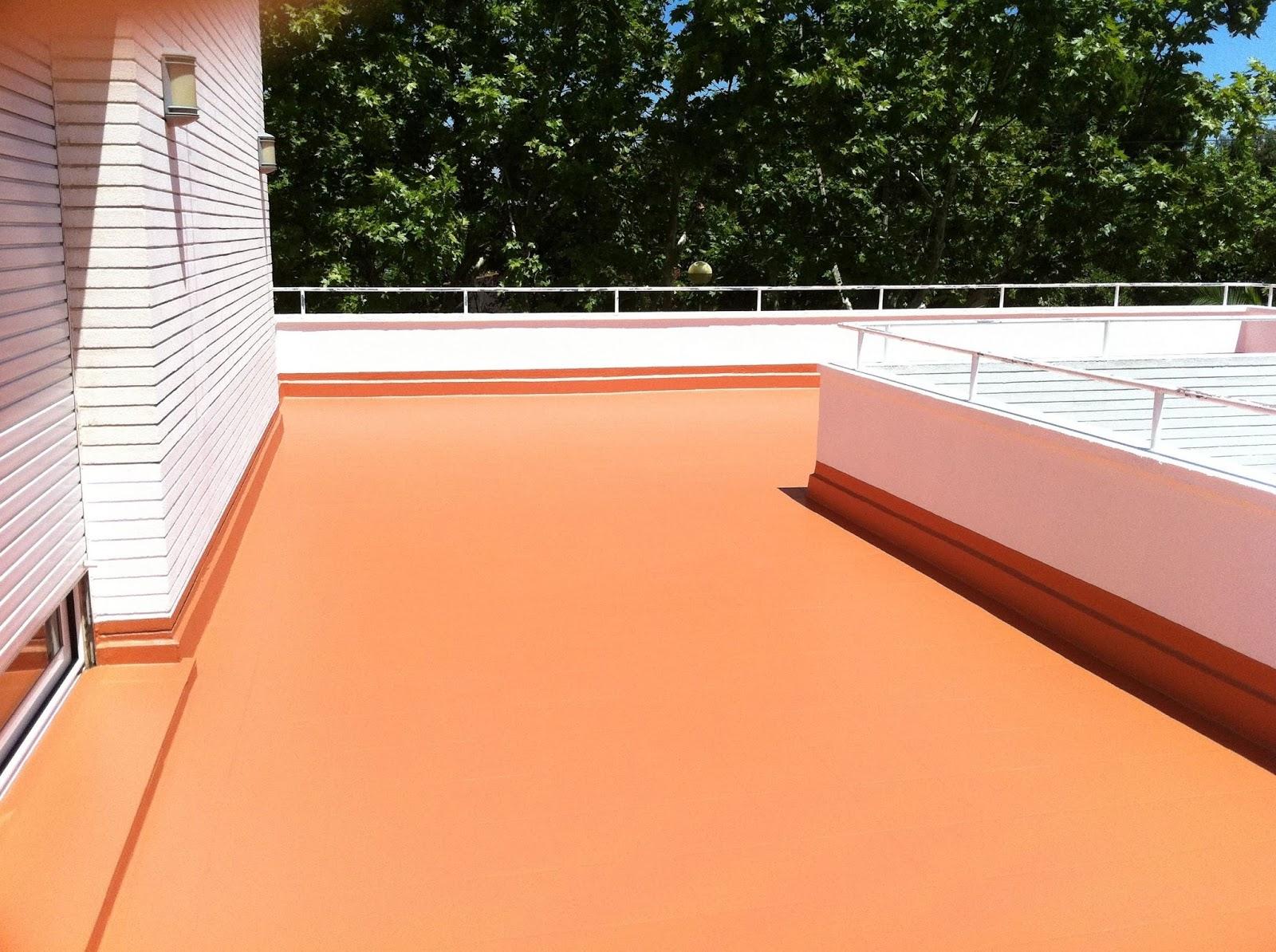 Reformas y mejoras consejos al realizar la - Pintura impermeabilizante terrazas ...