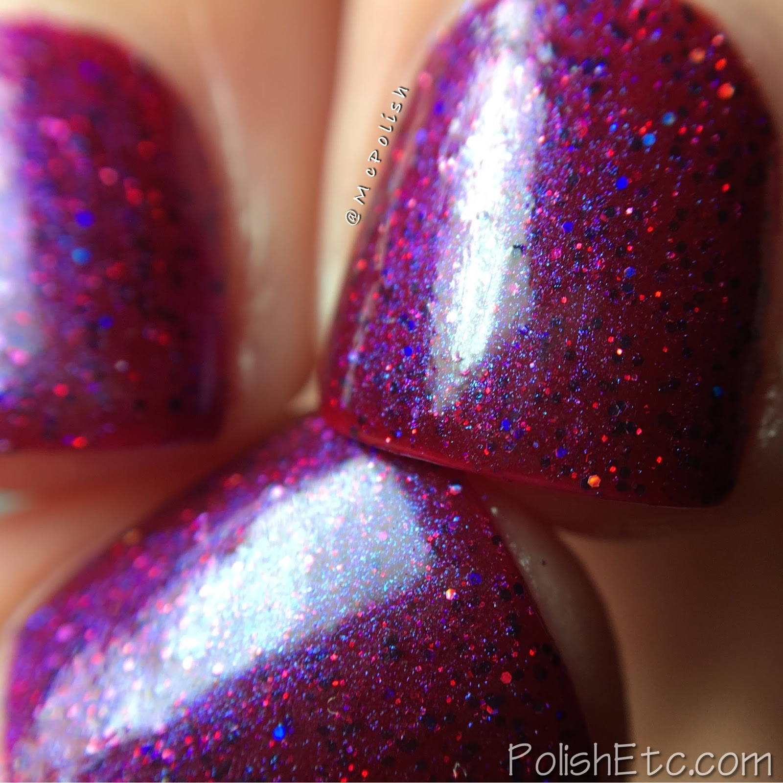 Vikings Duo from Lollipop Posse Lacquer and Anchor & Heart Lacquer - McPolish - More, Give Me More