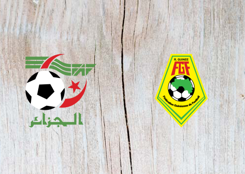 Algeria vs Guinea -Highlights 7 July 2019
