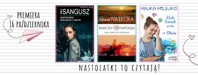 ZAPOWIEDŹ WYDAWNICZA - Nowe wydawnictwo i nowe książki!