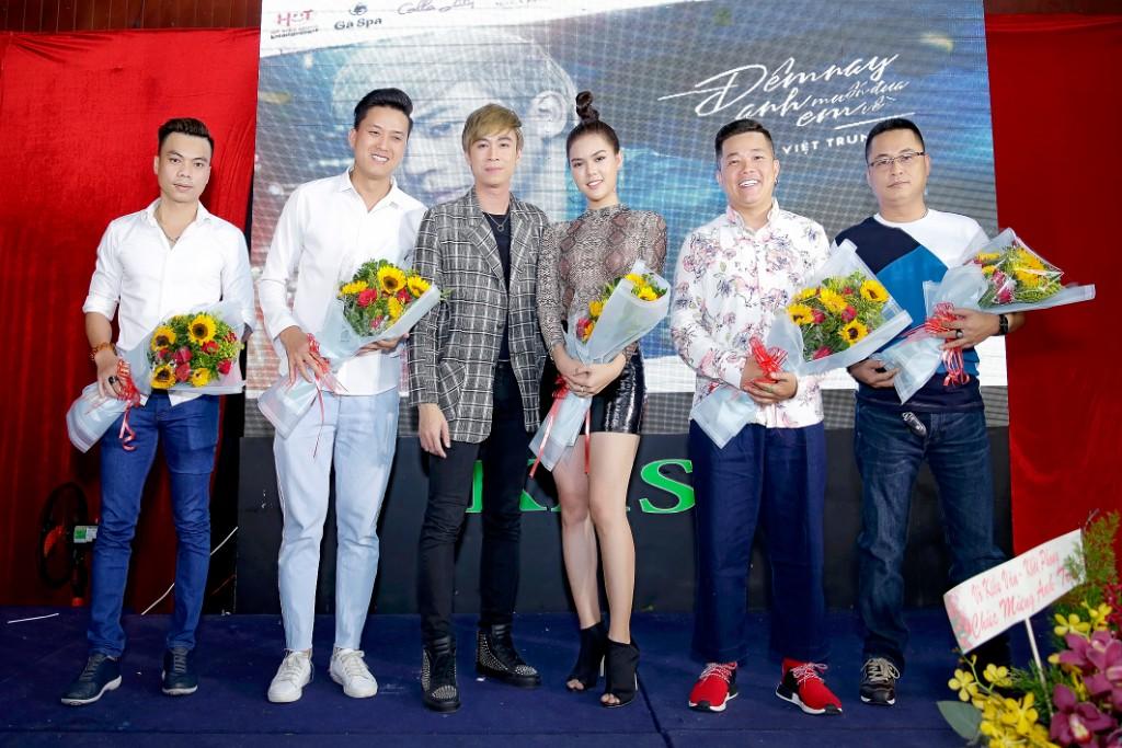 Hồ Việt Trung mời diễn viên Hoàng Mèo thực hiện MV cho mình