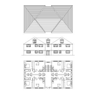 مشروع مبنى سكني
