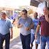 Prefeito Kiefer e deputado Marcus Cavalcante visitam obras de pavimentação na avenida Marechal Deodoro