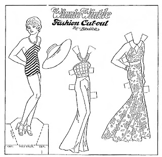 Mostly Paper Dolls Too!: Winnie Winkle and Her Wardrobe