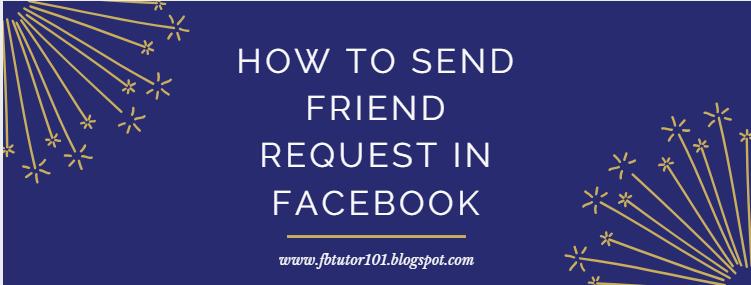 Friend Request In Facebook