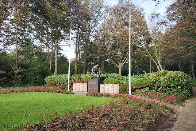 World war cemetery Den Burg Texel