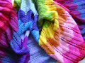 Knitting Chevrons in Technicolor $5.00