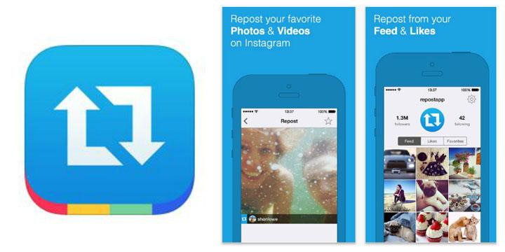 Repost - Antara 17 Alat Bantu Pemasaran Instagram