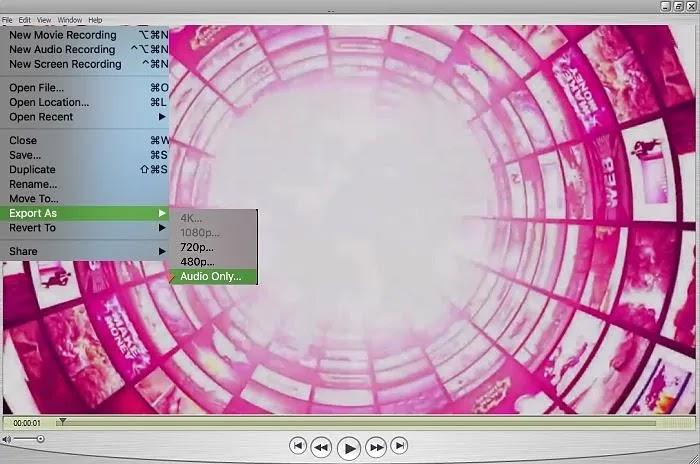 آبل-مستخدمي-تصدير-كصوت-من-ملف-فيديو- طريقة لطيفة