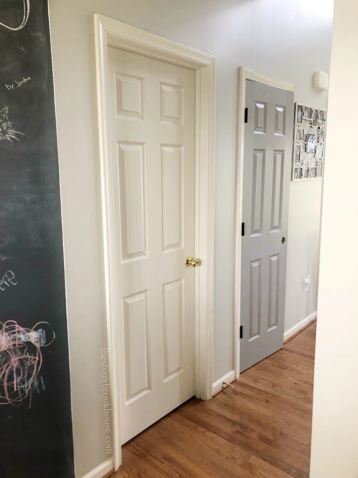 Hall Door Before