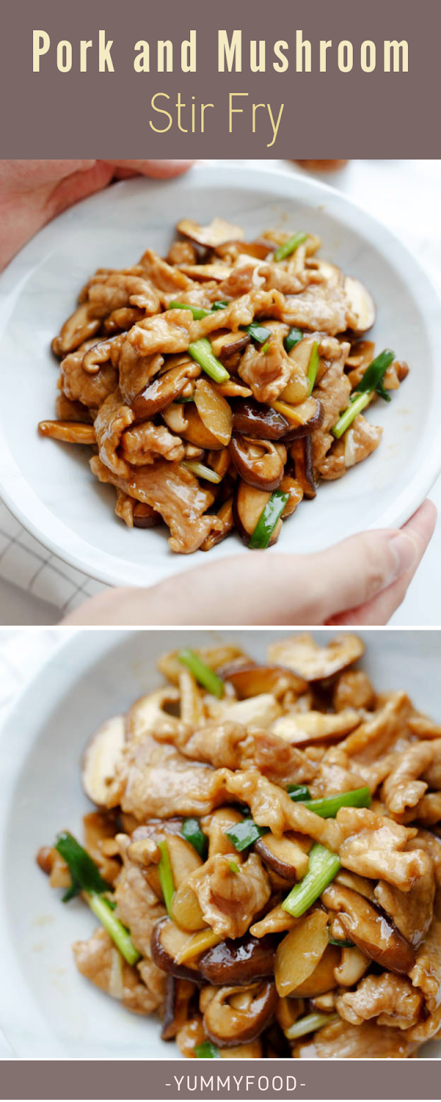 Pork and Mushroom Stir Fry