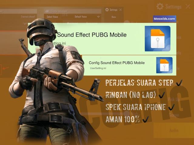 ubah efek suara android menjadi seperti ios pubg mobile