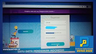 pengguna tidak aktif dapodik 2022
