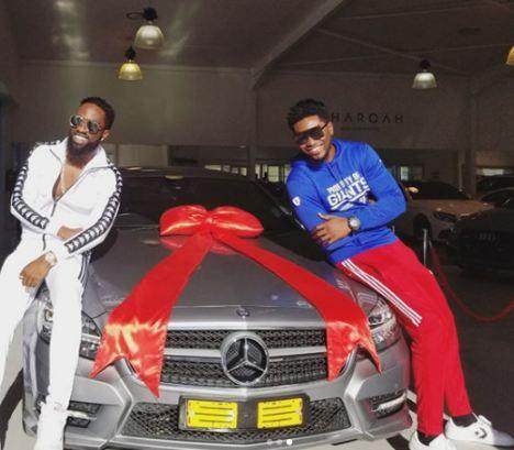 Former BBA Star, Tayo Faniran Acquires A Benz Car (Photo)