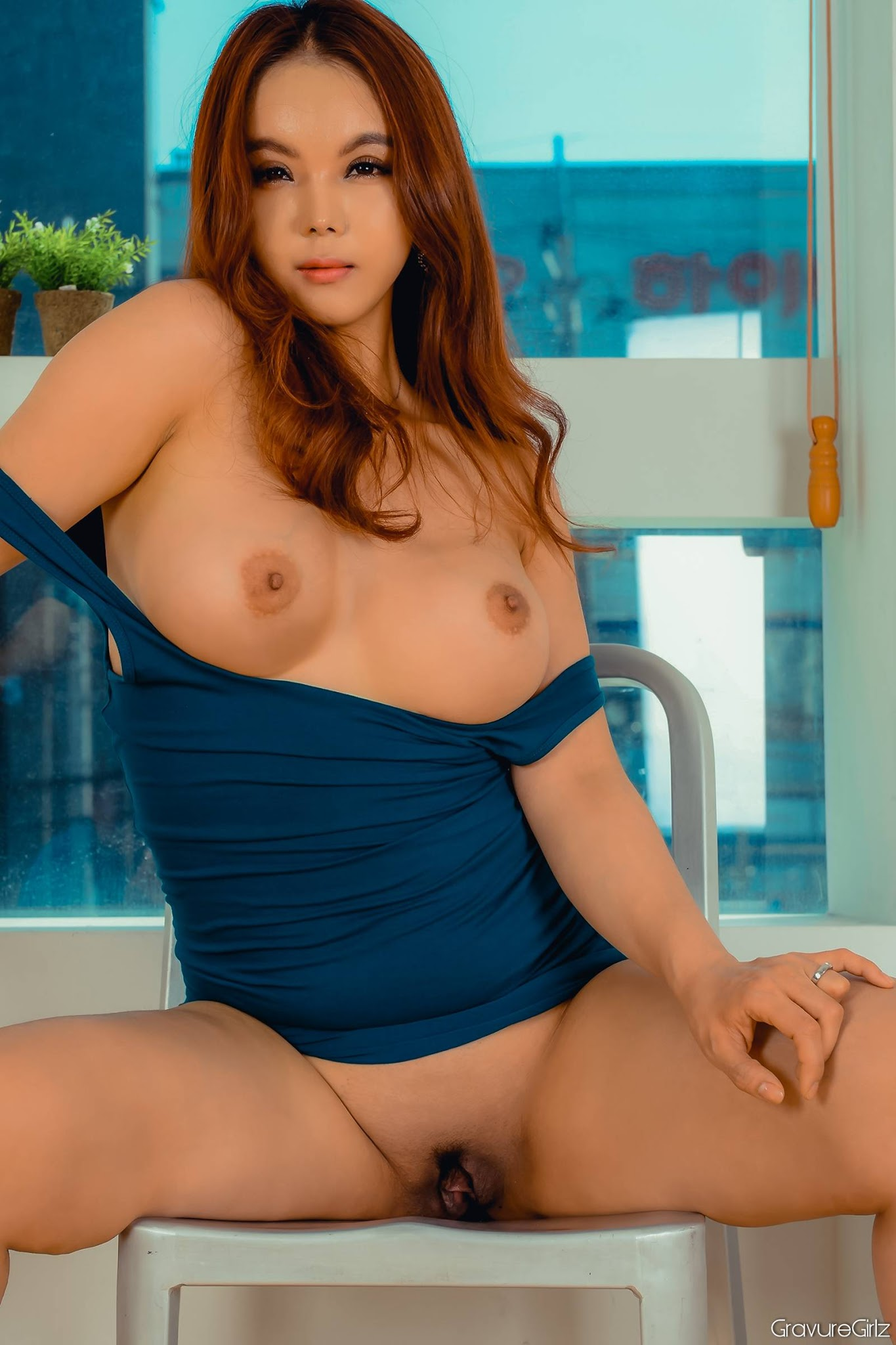image Uncensored japanese cosplay sexy idol in fishnet stockings