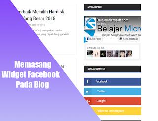 membuat fanspage facebook di blog