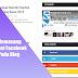 Cara Memasang Fanspage Facebook Di Blog