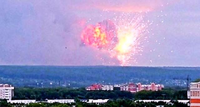 انفجار روسيا | انفجار روسيا النووي - سبب انفجار روسيا - صاروخ روسيا الجديد الذي ادي الى حدوث الانفجار
