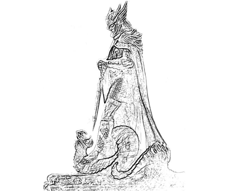 female dragonborn coloring pages - photo#34