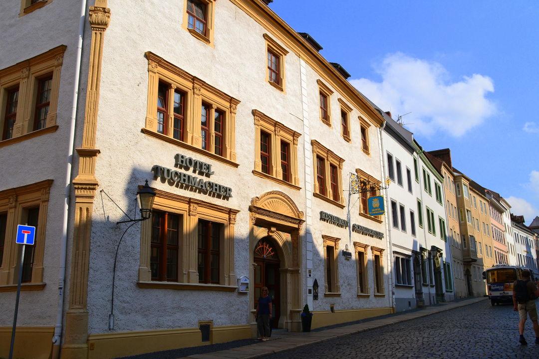 Отель Romantik Hotel Tuchmacher в Гёрлице