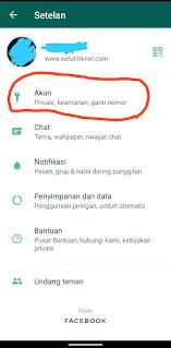 Cara Menghapus Akun WhatsApp Yang Nomornya Sudah Tidak Aktif