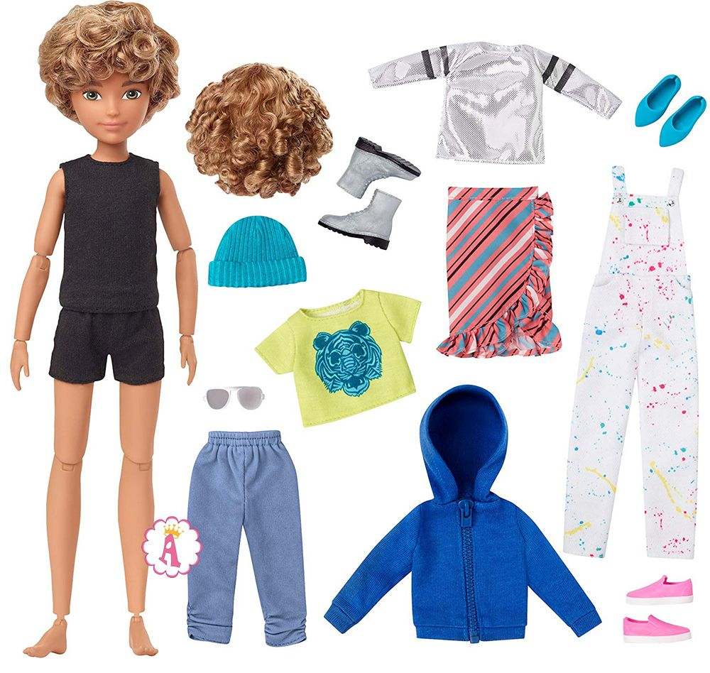 Набор сделай куклу сам Creatable World Deluxe Character Kit DC-220