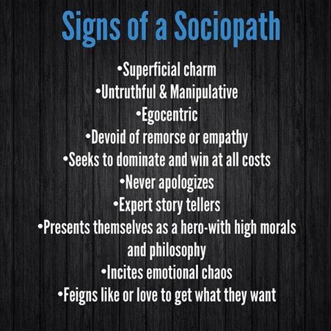 How do i know if i'm dating a psychopath