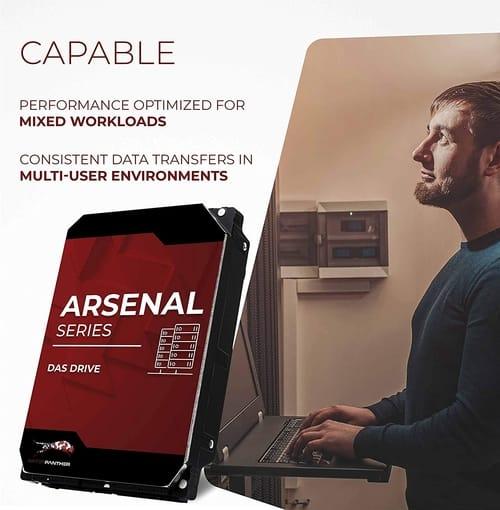 WP Arsenal 12TB SATA 7200RPM 3.5-Inch DAS Hard Drive