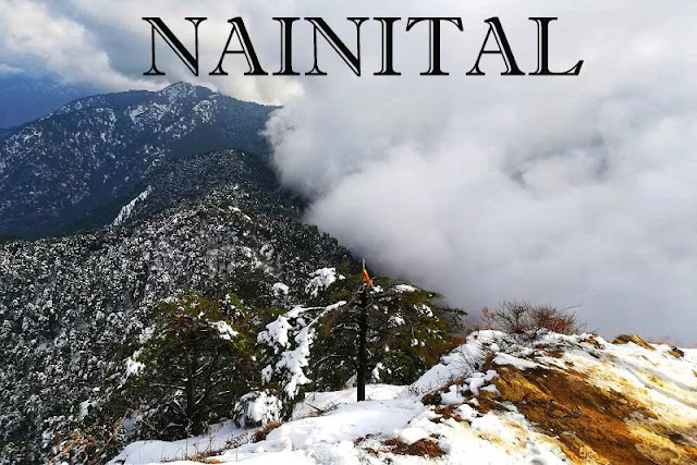 Nainital- city lakes of uttarakhand