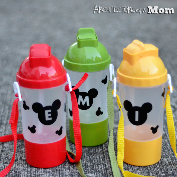 Mickey Water Bottles
