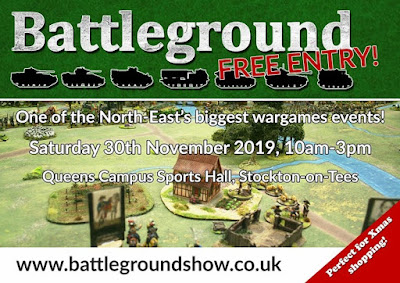 Battleground, Stockton-on-Tees, Wargames Show 2019