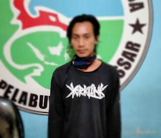 Satres Narkoba Polres Pelabuhan Makassar Bekuk Dua Pelaku Narkoba