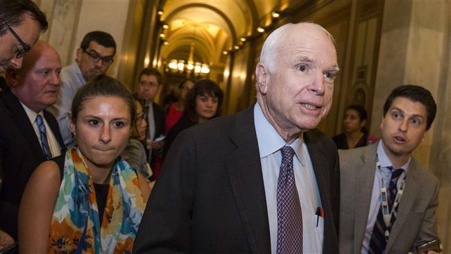 US Senator John McCain says lawmakers are not President Donald Trump's subordinates