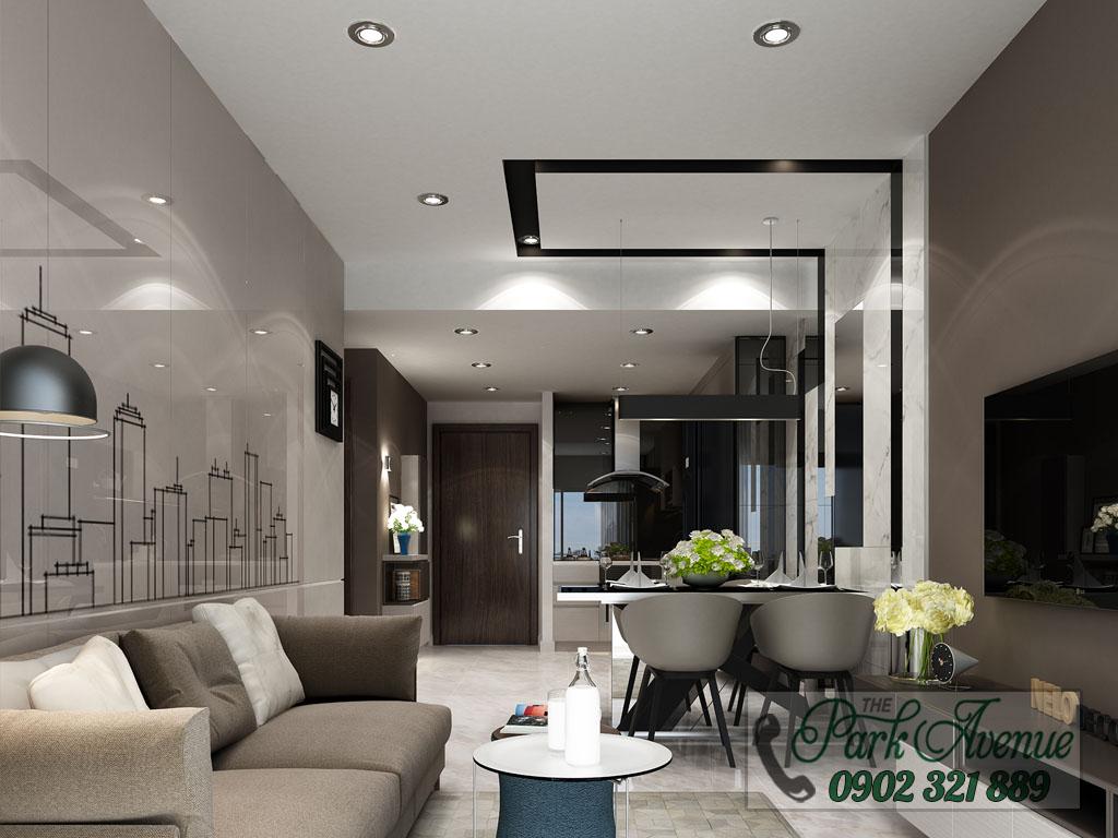 Chủ đâu tư mở bán 60 căn hộ The Park Avenue hot nhất mặt tiền đường 3/2 - nhà mẫu 3