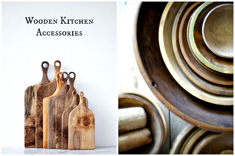 akcesoria do kuchni z drewna