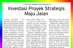Strategic Project Investments are ongoing