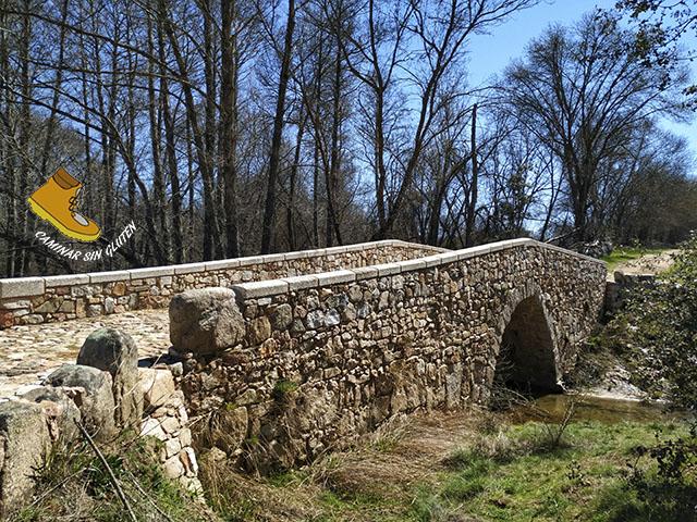 Puente romano de Sieteiglesias Lozoyuela