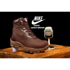 Daftar Harga Sepatu Pria Terbaru Boots Travis Safety Kerja Proyek Kulit