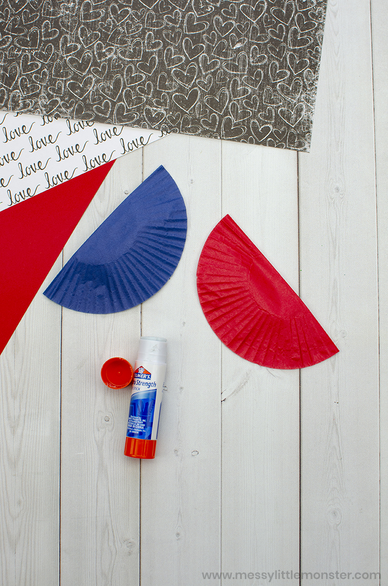 easy cupcake liner craft for kids