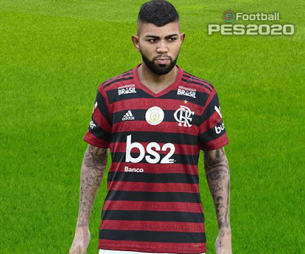 PES 2020 Gabriel Barbosa Tattoo